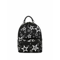 Dolce & Gabbana Mochila Vulcano Com Estampa De Estrelas - Preto
