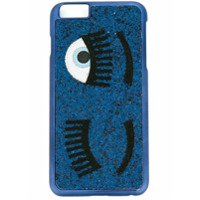 Chiara Ferragni Capa Para Iphone 6/6S 'flirting' - Azul