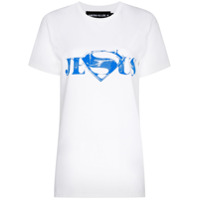 Mowalola Camiseta Com Estampa De Slogan - Branco