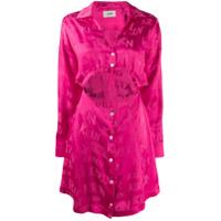 Kirin Vestido Com Detalhe De Recorte Vazado - Rosa