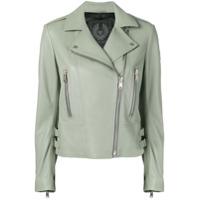Belstaff Marvingt Leather Jacket - Verde