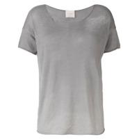 Fine Edge Camiseta Com Efeito Degradê - Cinza