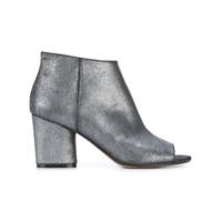 Maison Margiela Ankle Boot De Couro - Grey