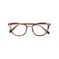 Oliver Peoples Óculos De Grau 'theadora' - Rosa