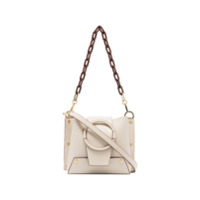 Yuzefi Cream And Brown Delila Cross Body Bag - Neutro