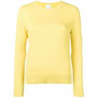 Barrie Suéter De Cashmere - Amarelo
