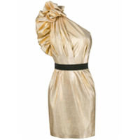 In The Mood For Love Vestido Aga - Dourado