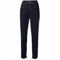 Versus Calça Jeans Cintura Alta - Azul