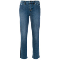 Tory Burch Calça Jeans Cropped - Azul