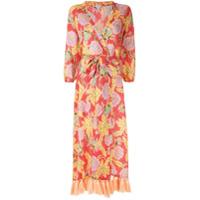 Rhode Resort Vestido Floral Com Cinto - Estampado