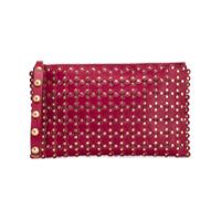 Red Valentino Red(V) Flower Puzzle Clutch - Vermelho