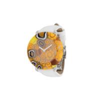 Yunik Relógio Stone 36Mm Pequeno - Branco