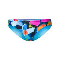 Mara Hoffman Sutiã De Biquíni Floral - Azul
