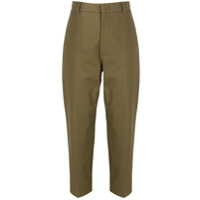 Sofie D'hoore Cropped Tapered Trousers - Verde
