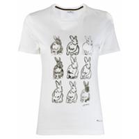Ps Paul Smith Camiseta Com Estampa De Coelho - Branco