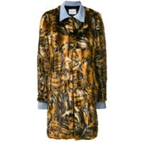 Forte Dei Marmi Couture Casaco Animal Print 'zita' - Marrom