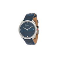 Salvatore Ferragamo Watches Relógio Cuir - Azul