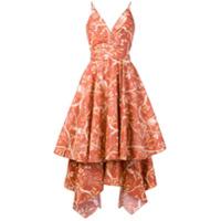 Johanna Ortiz Vestido Estampado - Rosa