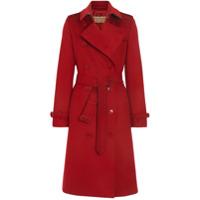 Burberry Cashmere Trench Coat - Vermelho