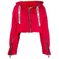 Khrisjoy Cropped Padded Jacket - Vermelho