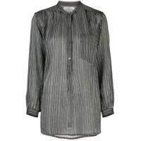 Isabel Marant Étoile Camisa Listrada - Preto