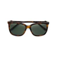 Cartier Óculos De Sol 'c Décor' Quadrado - Marrom