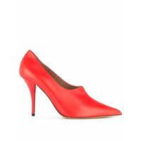 Tabitha Simmons Sapato De Couro - Vermelho