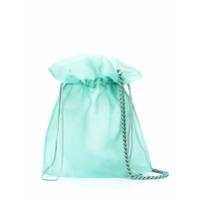 Belysa Bolsa Tote Com Cordão De Ajuste - Verde