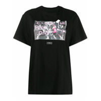 Throwback. Pink Power T-Shirt - Preto