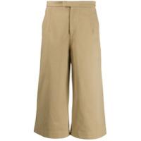 Jejia Cropped Wide Leg Trousers - Neutro