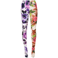Richard Quinn Calça Legging Floral - Estampado