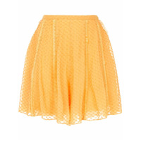 Rachel Gilbert Short 'ollie' - Amarelo