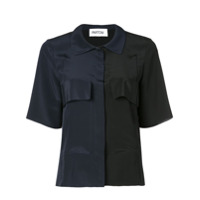 Partow Two-Tone Shirt - Preto