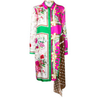P.a.r.o.s.h. Fantasia Shirt Dress - Rosa