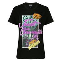 Just Cavalli Camiseta Neon - Preto