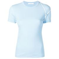 Helmut Lang Bra Strap T-Shirt - Azul
