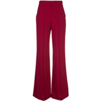 Alice+Olivia Calça Pantalona - Vermelho