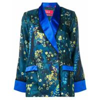 F.r.s For Restless Sleepers Camisa Com Estampa De Cetim - Azul