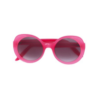 Lapima Óculos De Sol Arredondado - Rosa