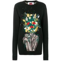 Bad Deal Suéter Com Aplicação - Preto