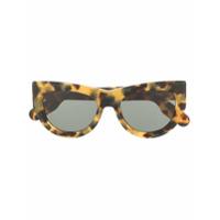 Kenzo Óculos De Sol Redondo - Marrom