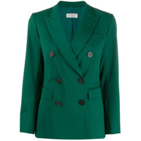 Alberto Biani Slim-Fit Double-Breasted Blazer - Verde