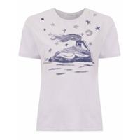 Martha Medeiros T-Shirt Com Estampa - Rosa