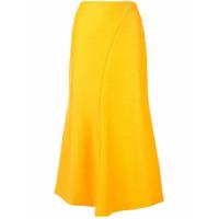 Acler Saia Lápis Selkin - Amarelo