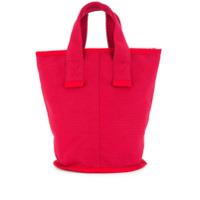Cabas Bolsa Tote Pequena 'laundry' - Vermelho