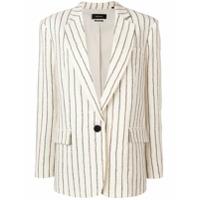 Isabel Marant Blazer Com Textura - Branco