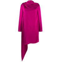 Gianluca Capannolo Draped Detail Dress - Rosa