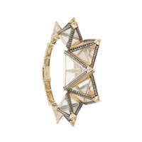 Bia Tambelli Bracelete 'three' Ouro 18K - Metálico