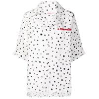 Charles Jeffrey Loverboy Camisa Com Poás Loverboy - Branco