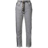 Litkovskaya Calça Jeans Slim - Cinza